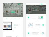 UI | Startup website