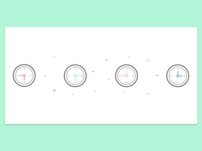 World Clocks Illustration