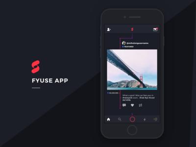 Fyuse App Redesign