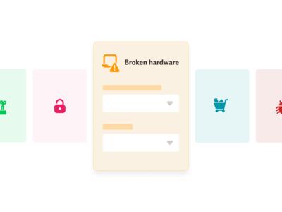 Request type simple UI