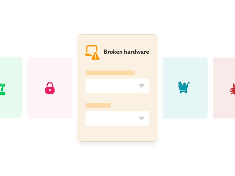 Request type simple UI icons brand design design app spoke request type simple ui