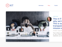 IT Kit website rebrand