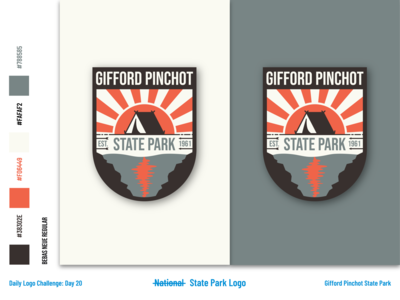 Gifford Pinchot State Park - Logo and Branding