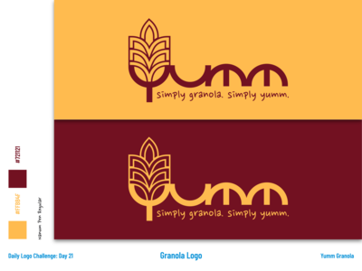Yumm - Granola Logo and Branding