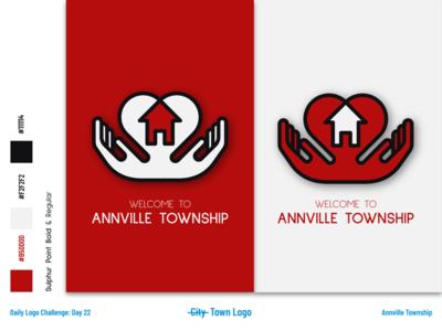 Annville Township - Township Logo and Identity illustration icon dailylogochallenge art flat vector logo branding illustrator design