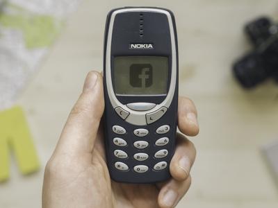 Facebook facebook nokia april fool logo joke