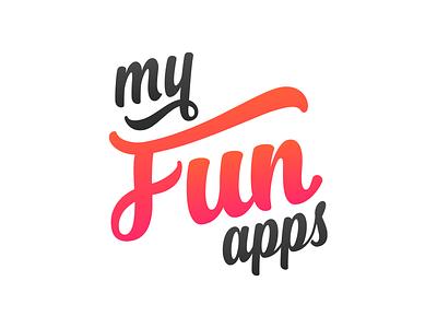 My Fun Apps handwrite logo apps fun