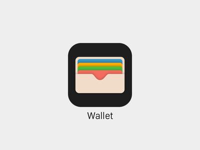 Wallet - Freebie Sketch passbook icon ios 9 ios wallet