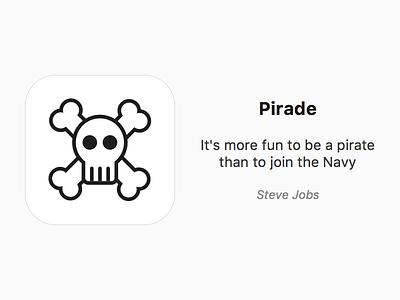 Pirade pirade ios icon app pirate