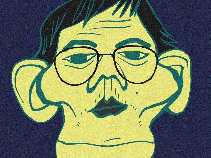 POLETTE/ Come Together - Dean View Silver design campaing glasses procreate illustration