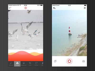 Photos App - Extended [Freebie] white rebound psd freebie free ios clean ui photos app simple minimal