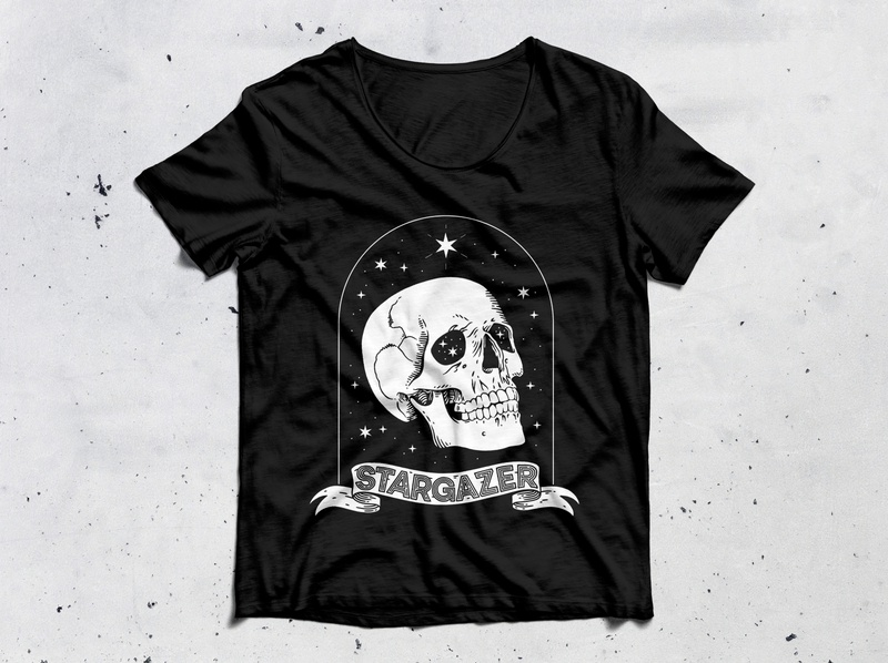 Stargazer clothing clothing design apparel apparel design illustration