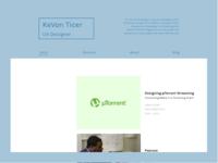 Portfolio Redesign Home Page
