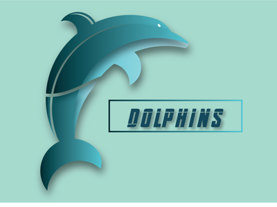 Dolphins logo animation icon animals dolphins branding typography indonesia vector logo illustration design