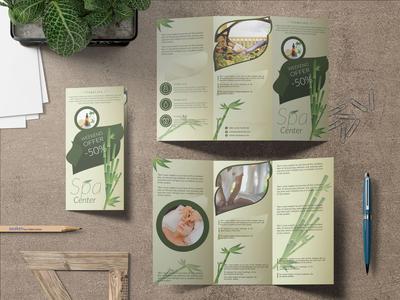 Trifold Spa Brochure Design