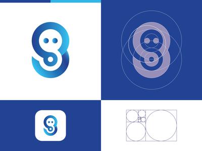 Simple Grid Logo Design
