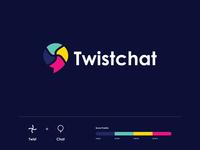 Twistchat Logo Design