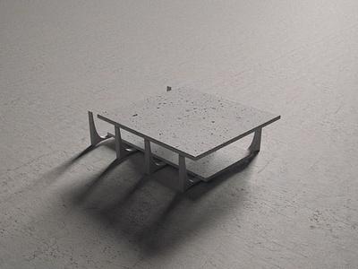 Columns; Concrete punchy oscar niemeyer study concept concrete maquette architecture