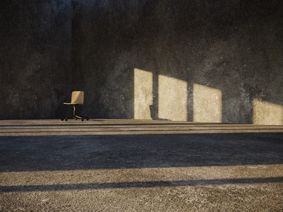 Concrete; Vitra HAL Ply Studio