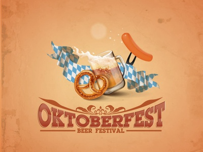 Design sample for Oktoberfest event