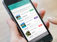 Mobile APP for hotel and hostel booking