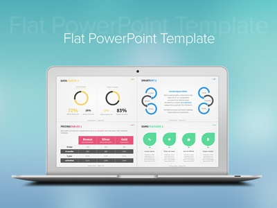 free flat powerpoint template - Goal.blockety.co