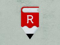 RubyReader Book/Pencil