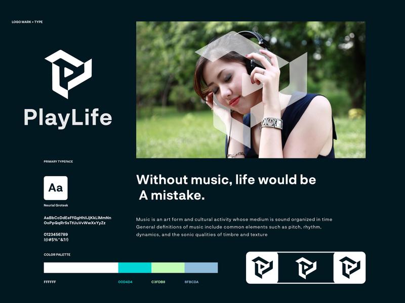 playlife - logo design