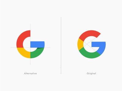 Google - Logo Redesign creative illustration vector icon app brand identity letter logo letter g typography redesign rebranding mark logotype logo google exploration design concept clean branding