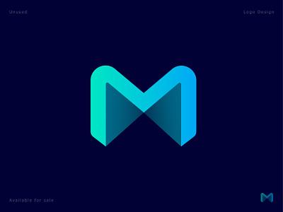 M -Lettermark logodaily logo design logotype tech business branding agency minimal modern logo app icon app logo logodesign custom letter monogram mark creative m letter letter logo gradient abstract logo