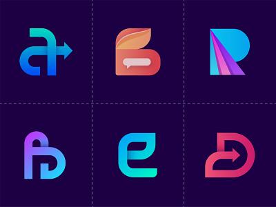 Logofolio - 2020 branding agency logo designer logodesign logos logotype letter b letter logo logomark logoset logofolio 3d mark illustration gradient app icon creative logo design branding abstract logo