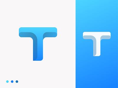 Letter T concept vector blue clean logo branding design letter t app icon illustration creative abstract logo design gradient logo modern logo app logo company logo letter logo o p q r s t u v w q y z a b c d e f g h i j k l m n branding logo
