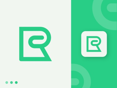 Letter R clean initial logo minimalist business logo flat design vector logodesign letter r letter logo illustration abstract logo design branding logo lettermark creative minimal modern logo app icon logo