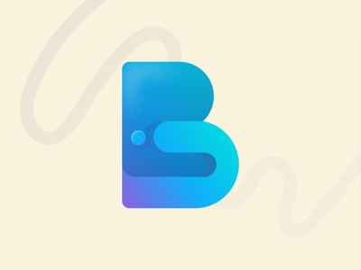Letter B startup business clean logo vector color gradient modern logo n o p q r s t u v w x y z a b c d e f g h i j k l m letter design app icon logo letter logo illustration abstract creative logo design branding logo