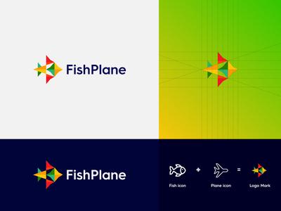 Fishplane - Logo Design