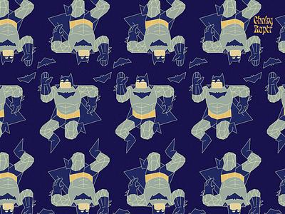 Geometric Batman Pattern playoffs rebound pattern batman vector graphic design illustrator illustration flat design clean art