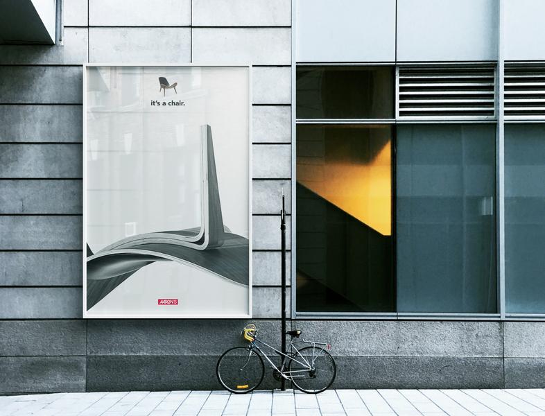Aaron's Rebrand Advertising design rebrand advertisement branding advertising