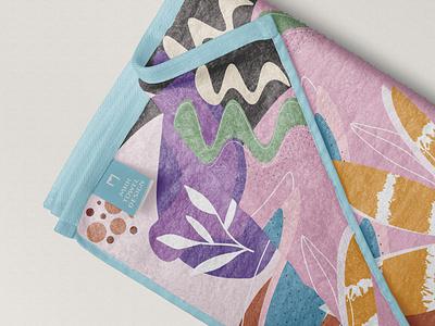 Towel Design Abstract Pattern vector illustration illustrator abstract design abstract art pattern design patterns design art towels pattern abstract design towel