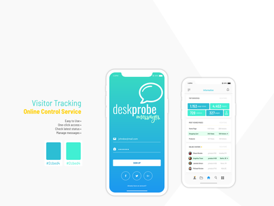 Visitor Tracking App