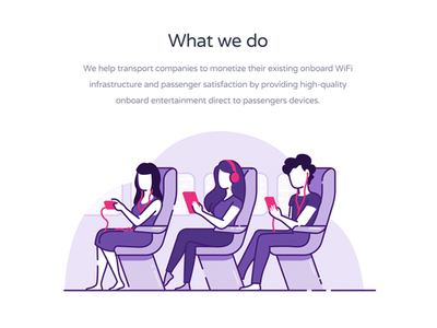 What we do ui ux ux ui digital art website digital vector illustration