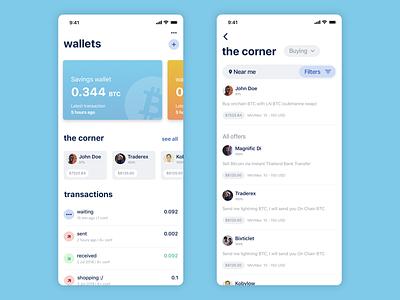 BlueWallet p2p Bitcoin Marketplace fintech finance app ios wallet crypto wallet crypto blockchain bitcoin wallet bitcoin