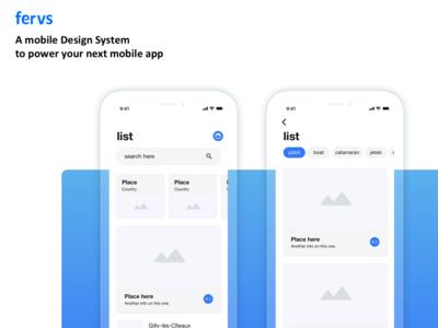 fervs design system