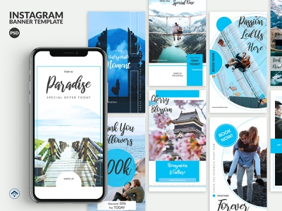 Travelove V2 - Travel Instagram Stories Template template instagram stories instagram moment promotion offer blog honeymoon travel app hotel vacation holiday explore travel agency