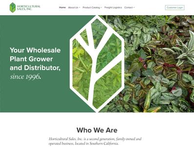 Horticultural Sales
