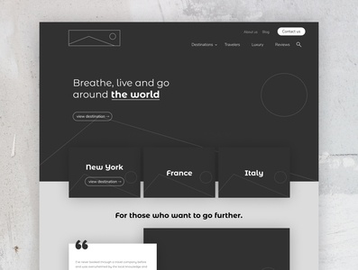 Design Interface | Wireframe minimal and  modern | UI UX
