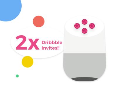 Dribbble_Invite giveaway draft invitation dribbble