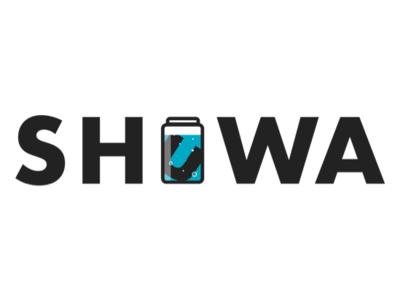SHUWA typography branding graphic design logo design