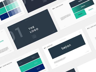 Becon Brand Guideline typography colorpalette logodesign brandidentitydesign layout logo guidebook brandbook branding brandidentity brandguidelines brand