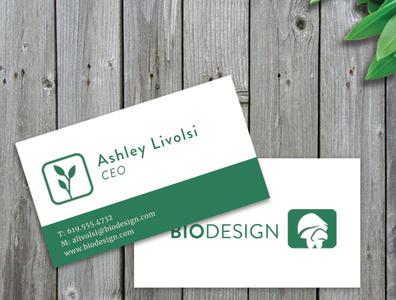 BioDesign Business Card Design