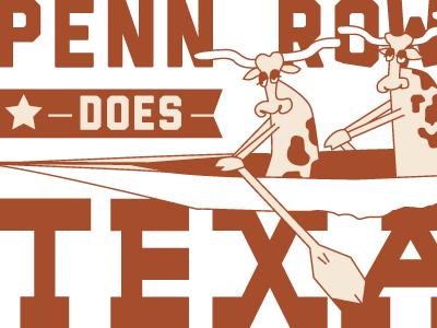Penn Rowing Does Texas